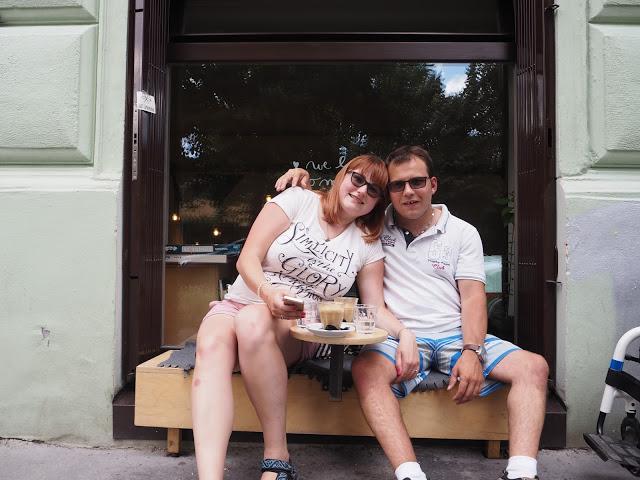 Letní Praha s Matym