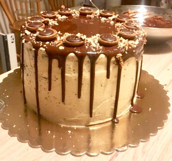 narozeninový dort bajaaaas