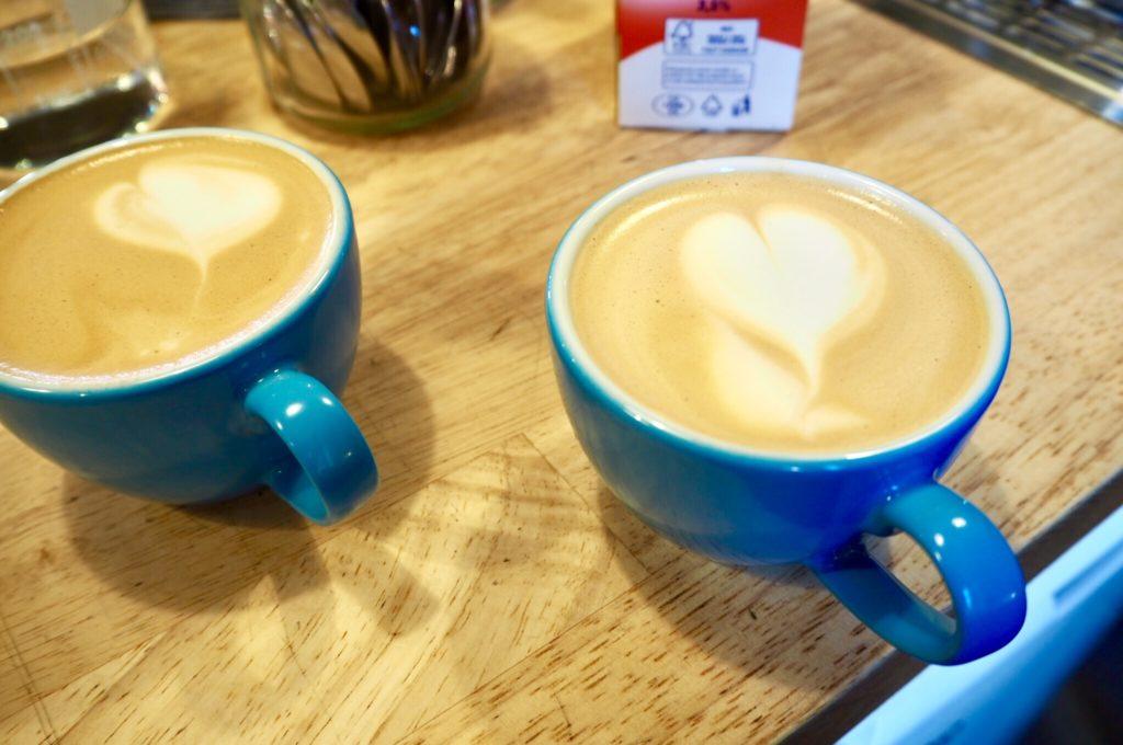 latte art srdíčko