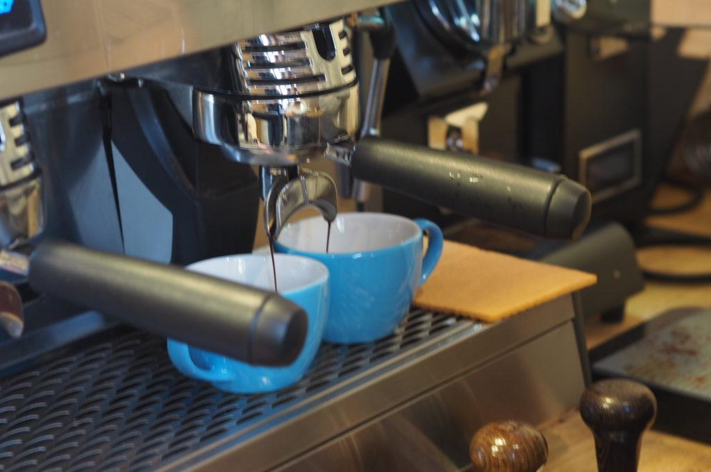 espresso příprava