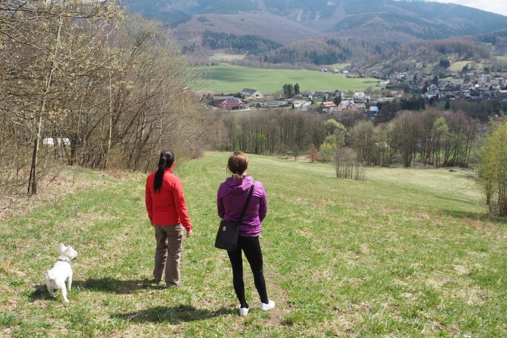 Vyhlídka na údolí