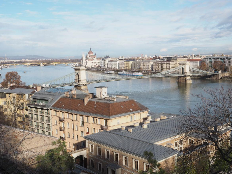 Budapešť panorama